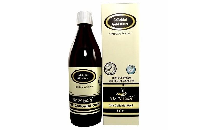 Dr N Gold Kolloidal Altın Suyu (500ml) 40ppm