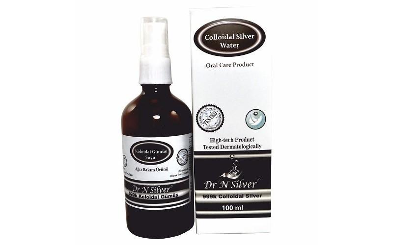 Dr N Silver Kolloidal Gümüş Suyu Sprey (100 ml) 40pp